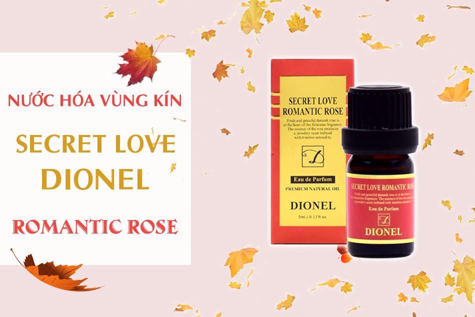 Nước hoa vùng kín Dionel Secret Love Romance Rose