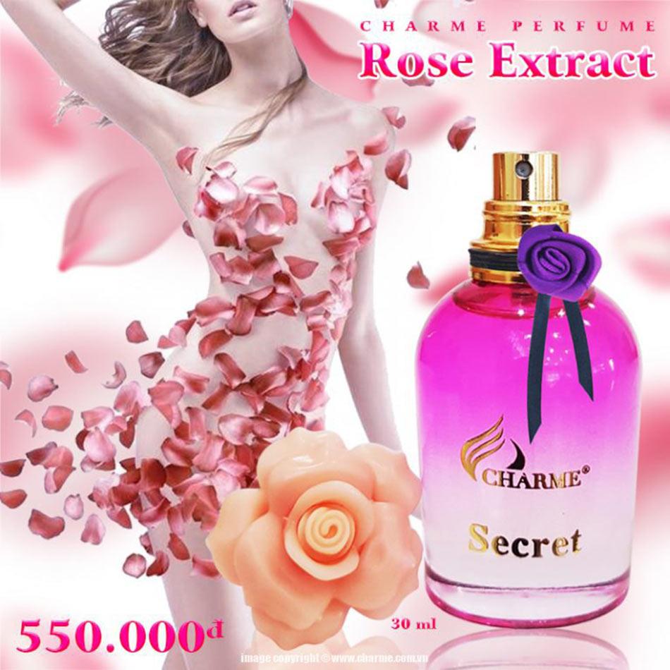Nước hoa vùng kín Charme Secret rose extract (30ml)