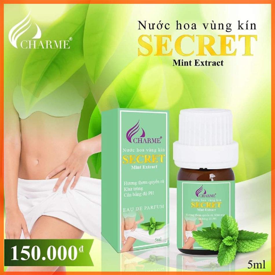 Nước hoa vùng kín Charme Secret mint extract (5 ml)