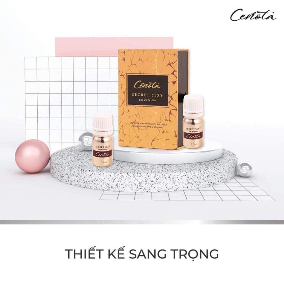 Sản phẩm nước hoa vùng kín Cenota Secret Sexy nhận được rất nhiều phản hồi tích cực của người tiêu dùng.