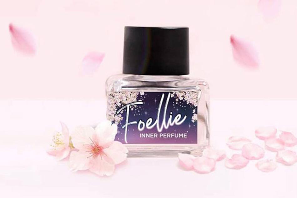 Foellie Eau De Inner Perfume giúp cân bằng pH âm đạo, ngăn chặn các các vi khuẩn, nấm gây ra mùi hôi.